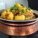 Gobhi Aloo (Cauliflower and potatoes)