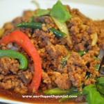 Authentic Thai Basil Chicken
