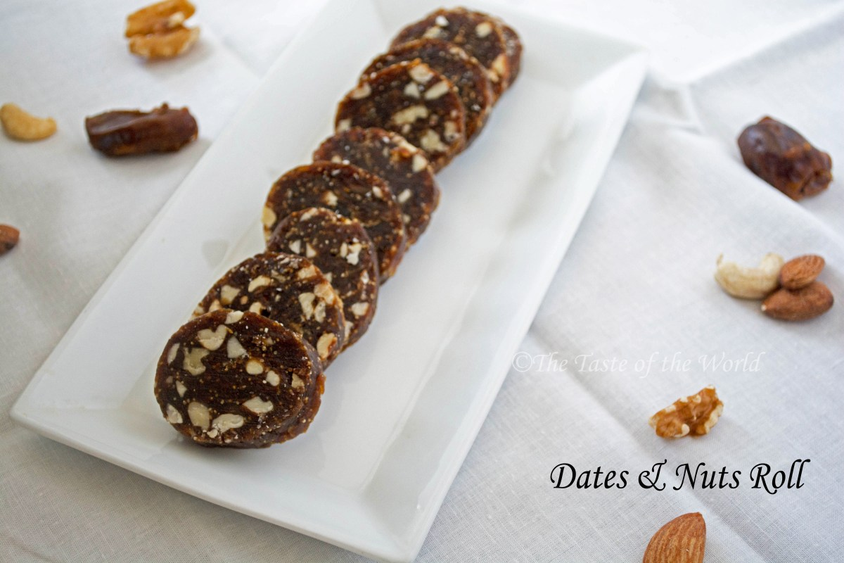 Dates & Nuts Roll