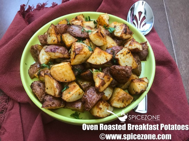Oven Roasted Breakfast Potatoes