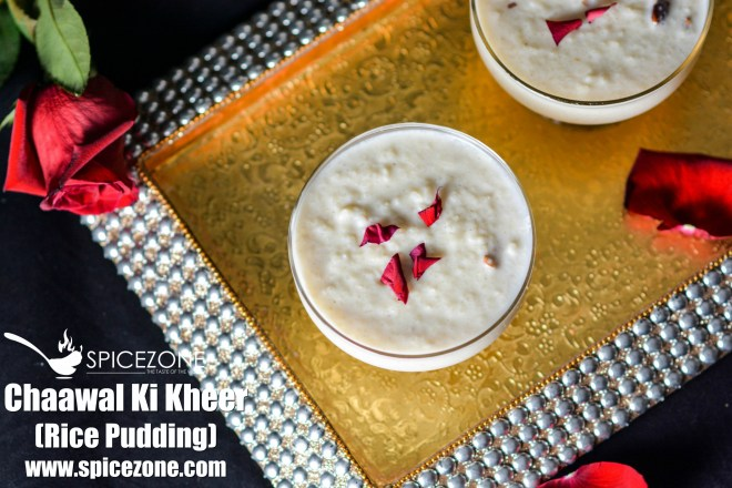 Chaawal Ki Kheer(Rice Pudding)