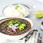 Cuban Black Beans & Rice | Cuban Black Bean Recipe