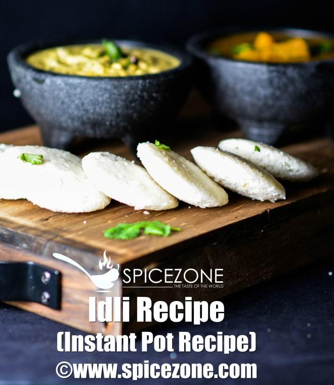 Idli Recipe (Instant Pot Method)