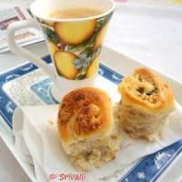 Garlic Pull-Apart Rolls | Paneer Mint Pull-Apart Rolls - a Step by Step Recipe