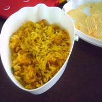 Aloo Rice ~ Aloo Roast Rice | Potato Rice ~ Easy Lunch Recipes for Kids | Step by Step Recipe