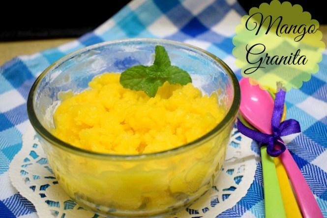 How to make Mango Granita