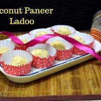 3 Ingredient Coconut Paneer Ladoo | How to make Nareli Chhena Ladoo