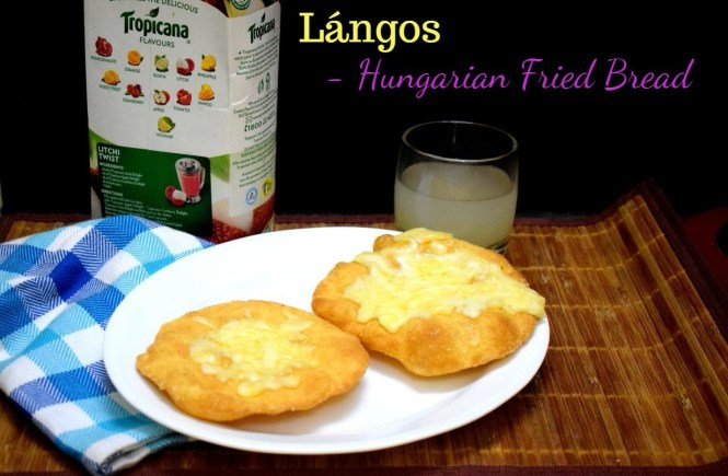 Lángos from Hungary