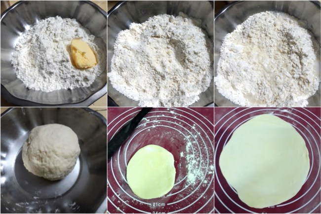 How to make Qeema Naan 1
