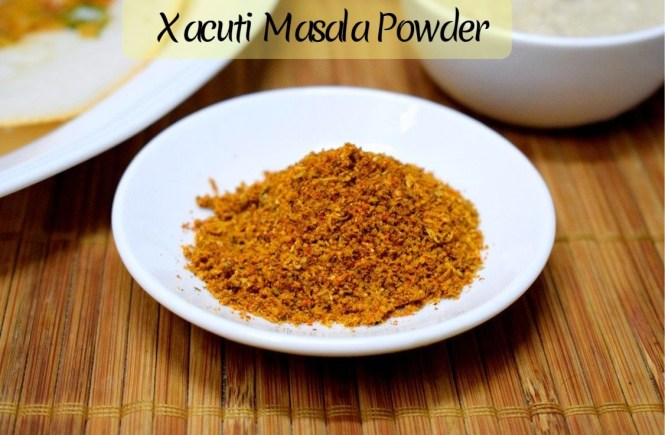 Xacuti Curry Powder