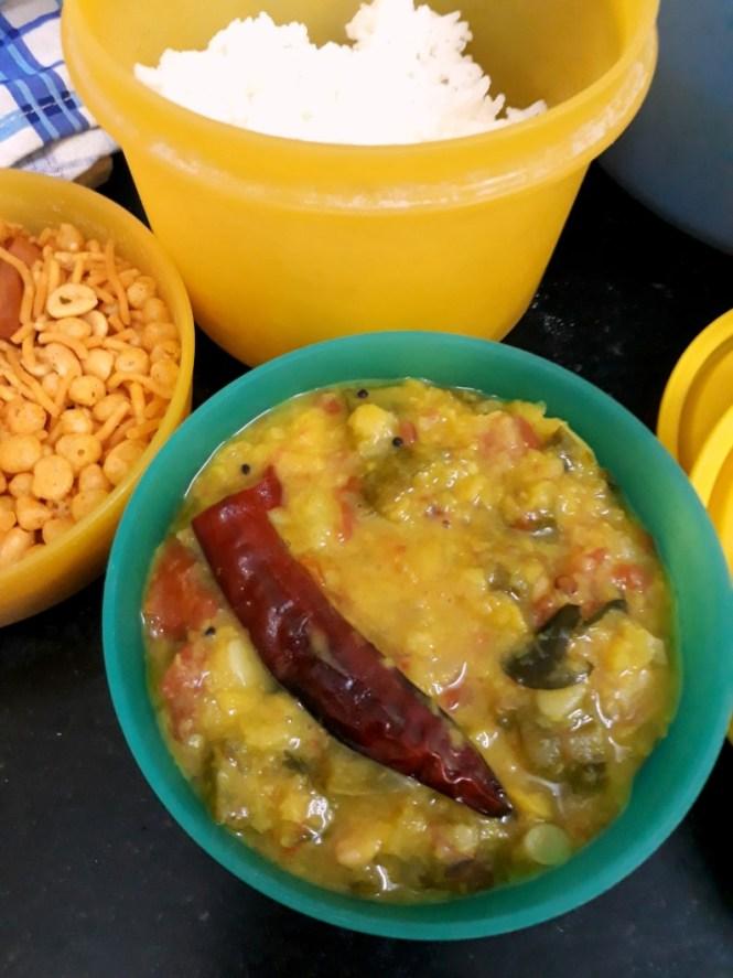 Andhra Ridge Gourd Dal