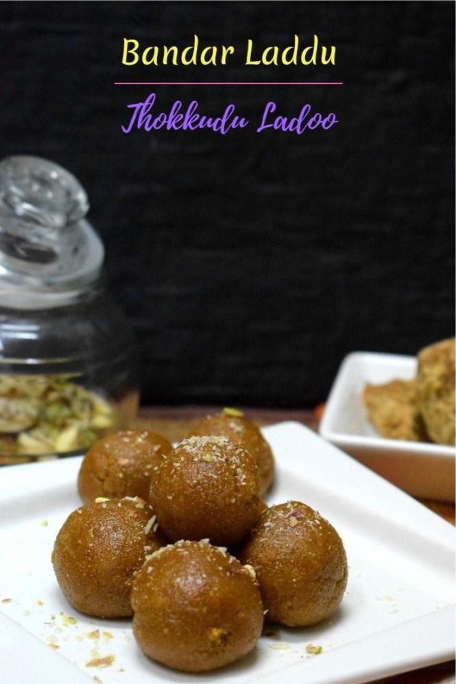 How to make Bandar Laddu