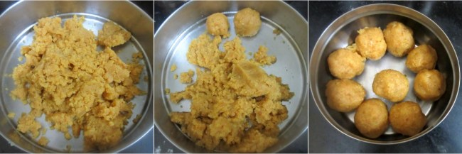 How to make Gatuo Ladoo 3