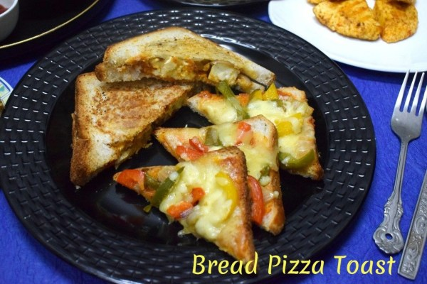 Bread Pizza Toast