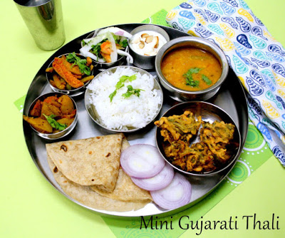 gujarati simple thali easy dal recipe burmese peas sprouted yellow food votes