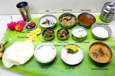 Onam Sadya Feast