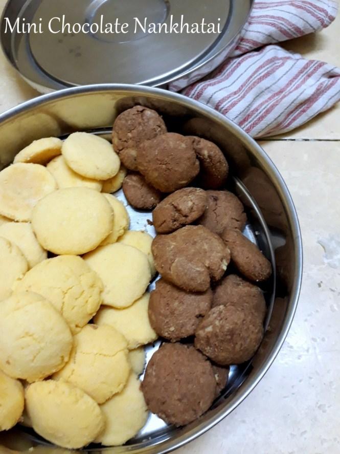 Mini Chocolate Nankhatai
