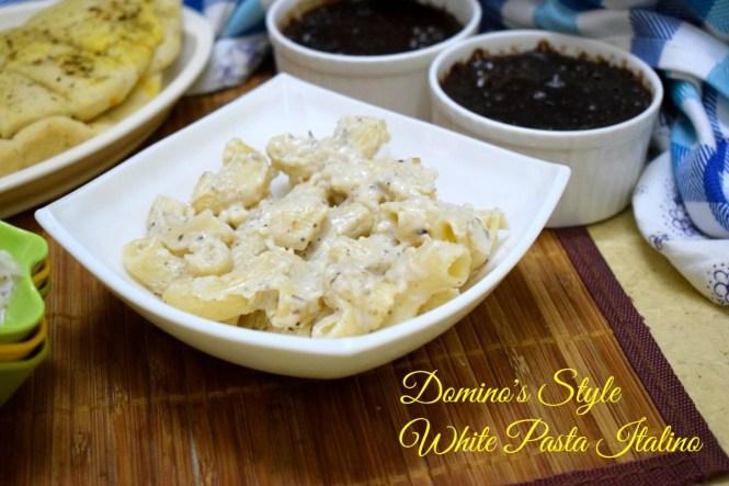 Domino's Style White Pasta Italiano