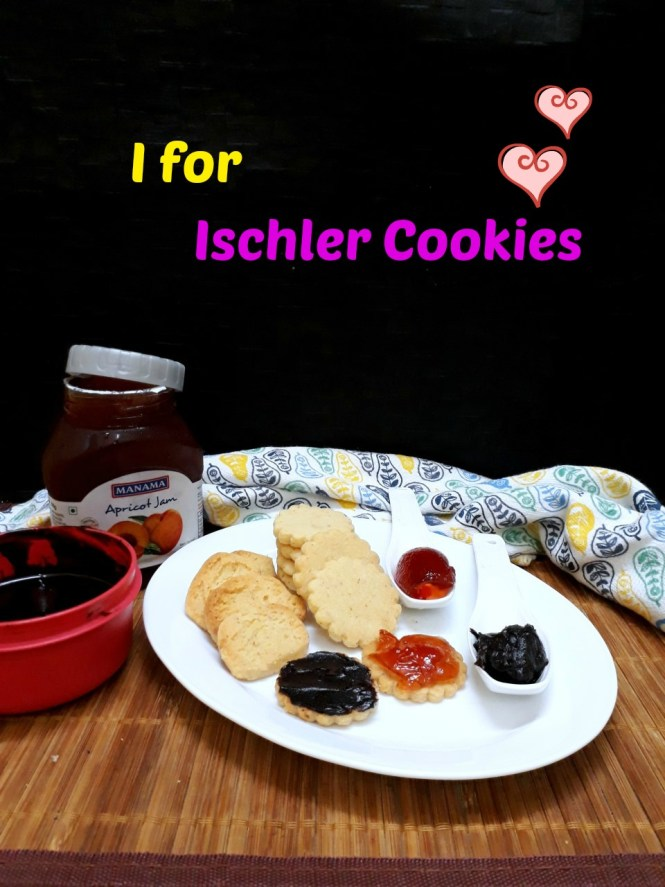 I for Ischler Cookies