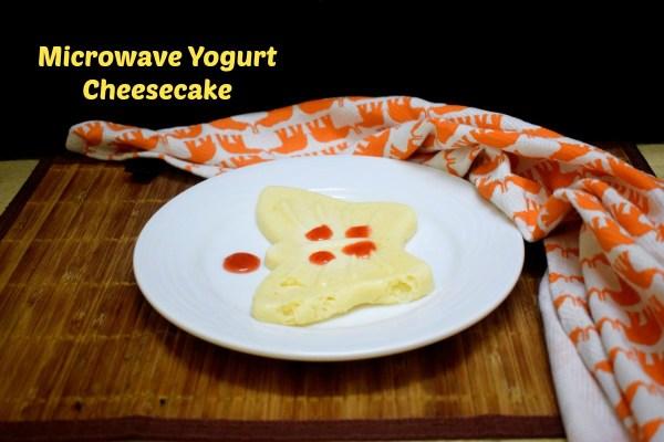 Microwave Yogurt Cheesecake