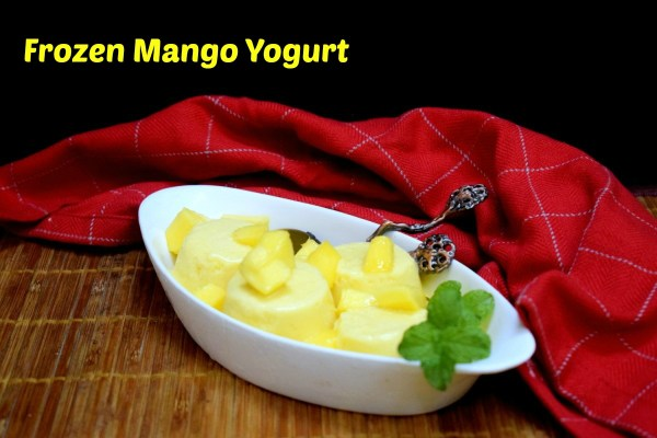 Frozen Mango Yogurt
