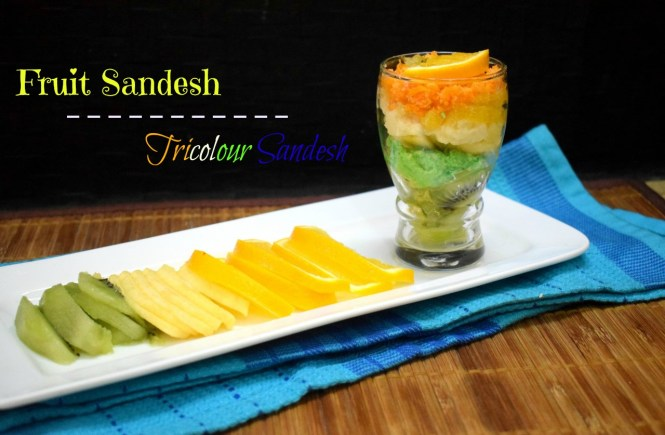 Fruit Sandesh