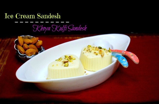 Ice Cream Sandesh