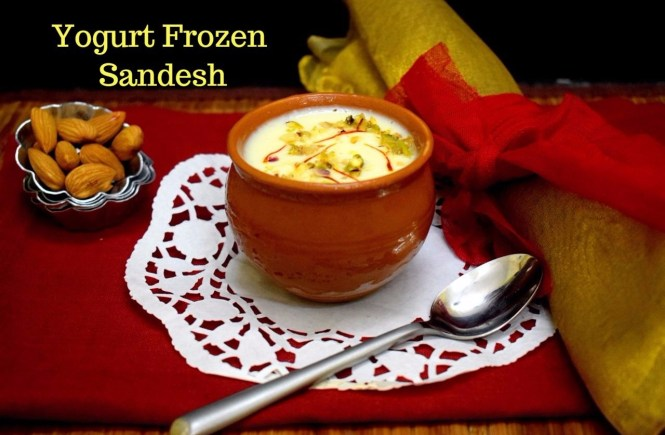 Yogurt Frozen Sandesh