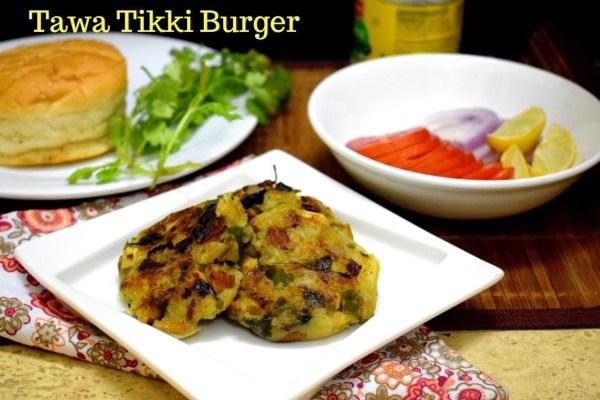 Tawa Tikki Burger