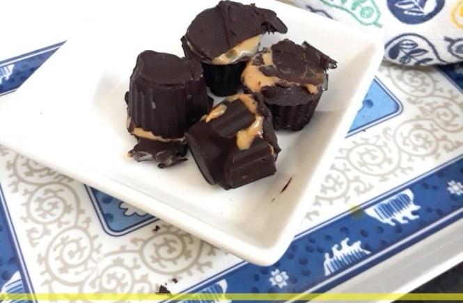Dark Chocolate Truffle with Dulce de leche