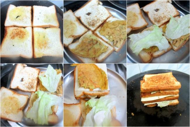 How to make Gilgeori Toast 2