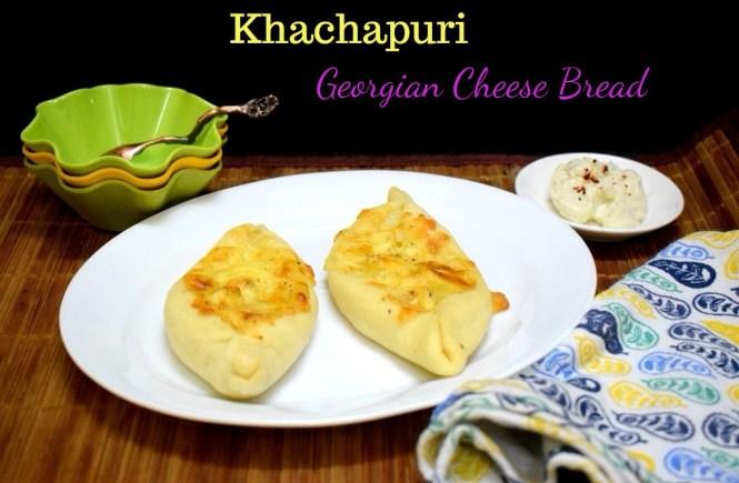Khachapuri from Georgia