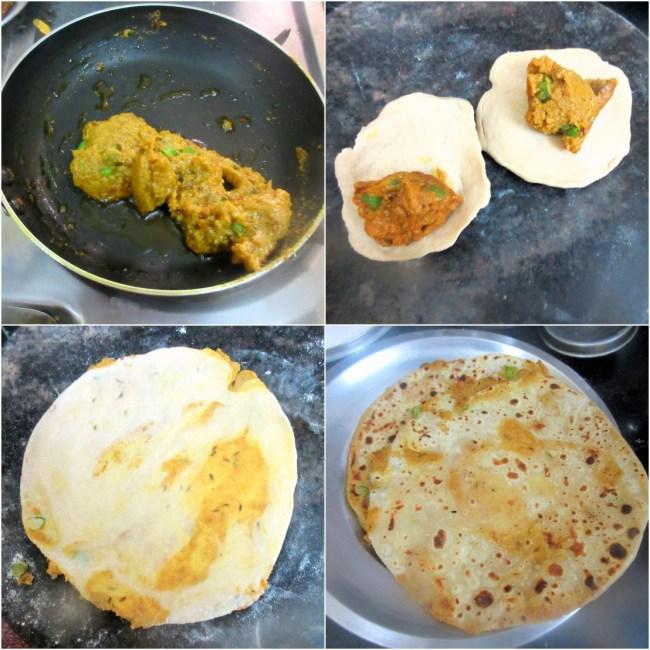 How to make Peethi ki Paronthi 2