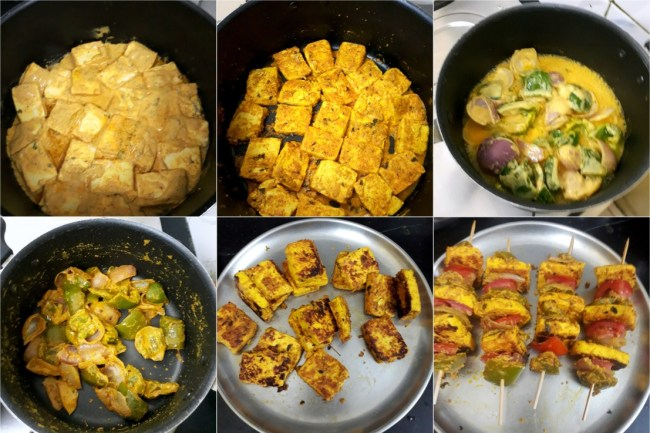 How to make Shahi Paneer Tikka 2