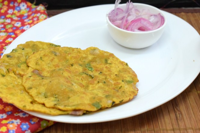 Spicy Onion Poori