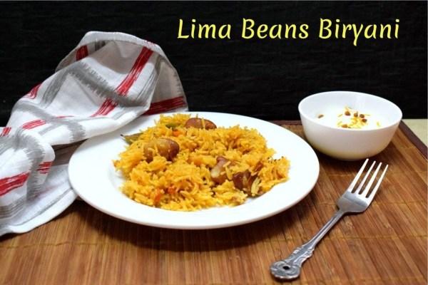 Lima Beans Biryani
