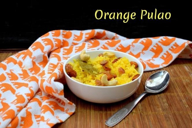Orange Pulao