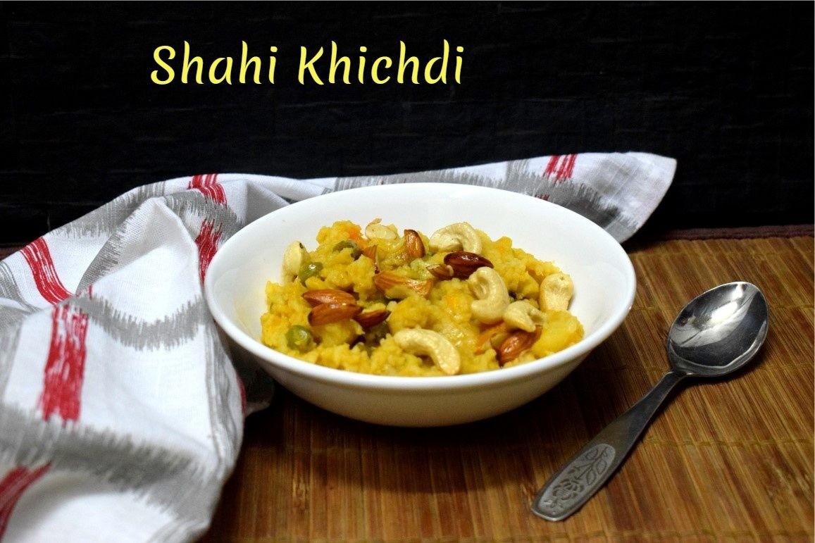 Shahi Khichdi | Royal Mixed Vegetable Khichdi