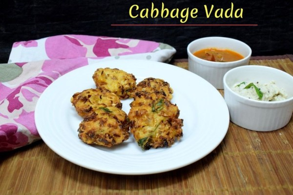 Cabbage Vada
