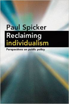 Reclaiming individualism, Policy Press 2013