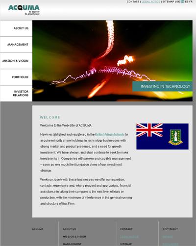 ACQUMA Homepage