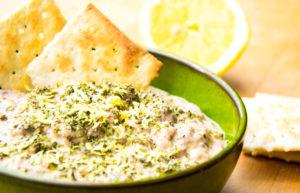 Auberginen-Dip mit Parmesan @spicy-love