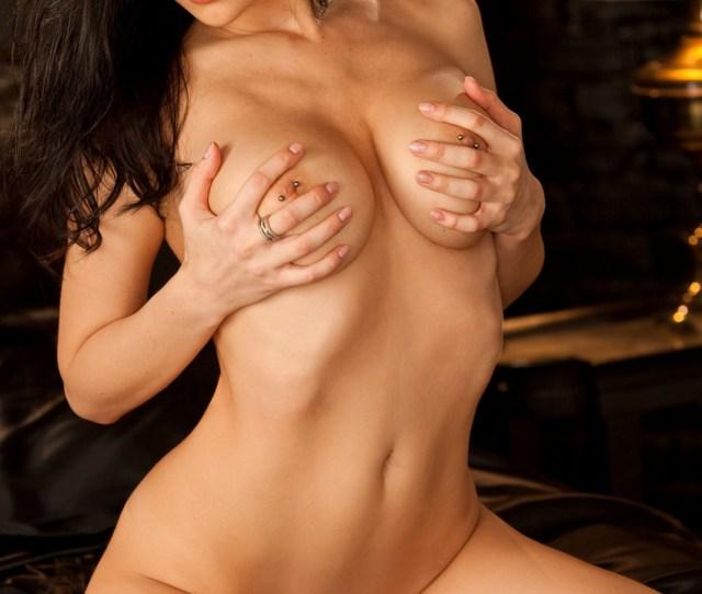 Yvgeniya With Beautiful Pierced Tits