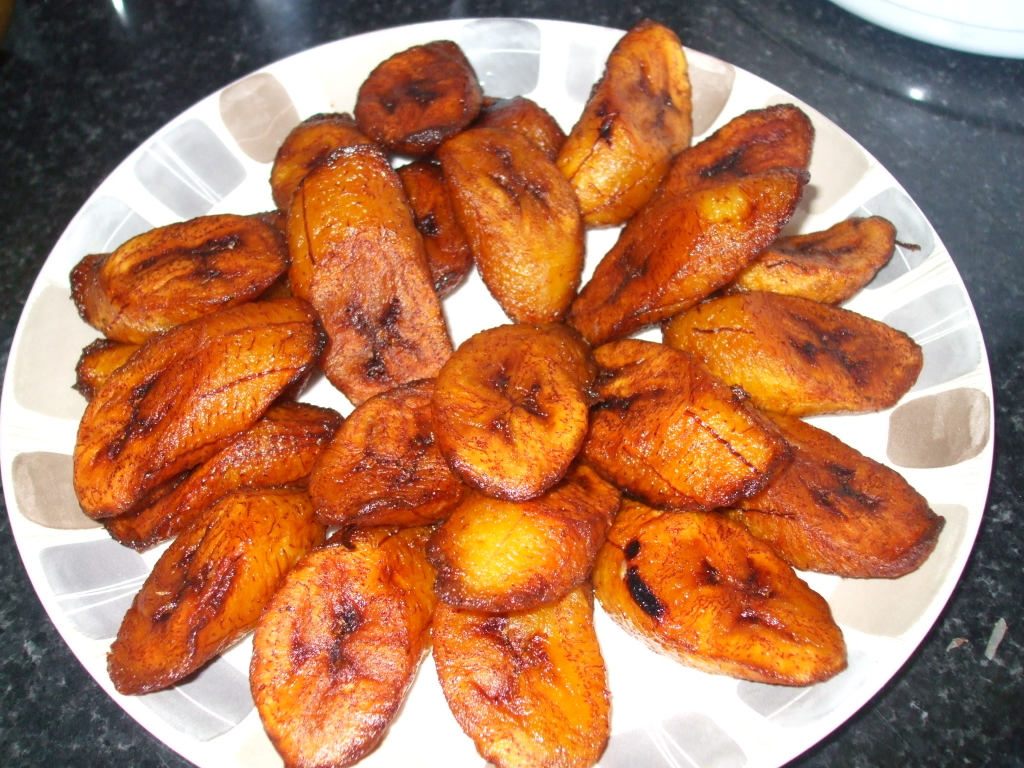 Fried riped plantain
