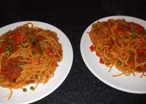 special spaghetti bolognaise