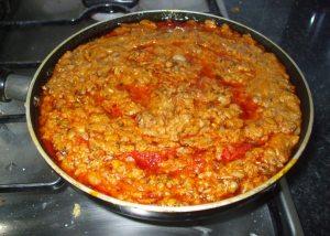 Black eyed beans stew
