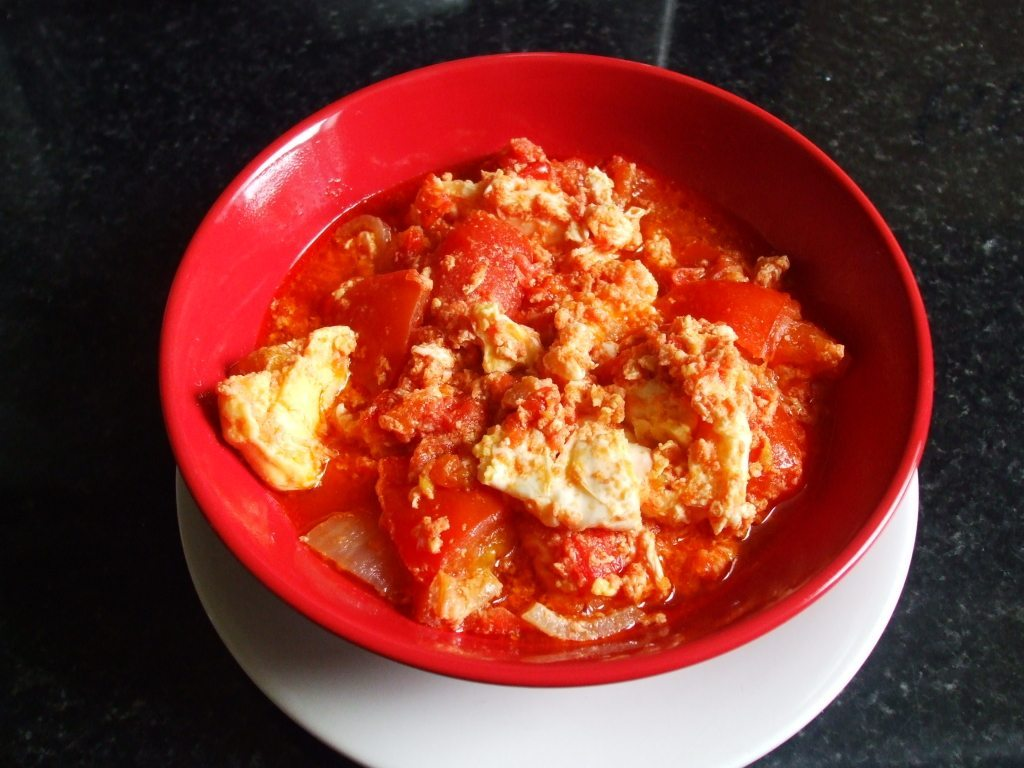 Egg and Tomato Stew