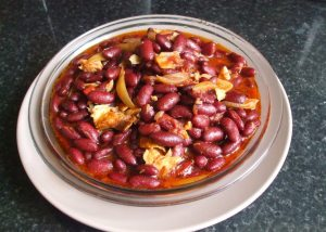 Stewed Kidney Beans