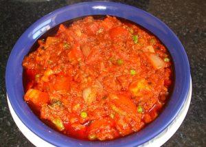 Tuna Chunks Stew