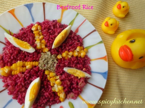 beetroot-rice